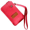 Holster leather case Sets for Blackberry Storm 9530 - Red
