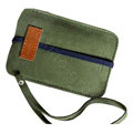 Holster leather case for Blackberry Storm 9530 - Dark green