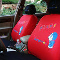 Doraemon universal Car Seat Covers sets - Red