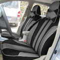 Double color Series Car Seat Covers Cushion - Grey