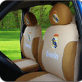 Real Madrid Car Seat Covers sets Four Seasons General - Brown