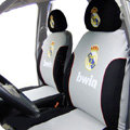 Real Madrid Car Seat Covers sets Four Seasons General - Grey