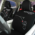 Human Touch Car Seat Covers Custom seat covers - Black EB001