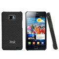 IMAK Mesh Hard Cases Covers For Samsung i9100 GALAXY SII S2 - Black