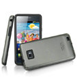 IMAK Slim Metal Silicone Cases Covers for Samsung i9100 GALAXY SII S2 - Gray