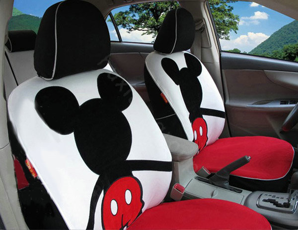 Buy Wholesale Mickey Mouse Car Seat Covers Custom Seat