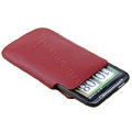 Imak Holster Leather sets Cases Covers for LG Optimus 7 E900 - Red