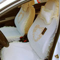 Hello Kitty Car Seat Covers Bud silk Lace - yellow