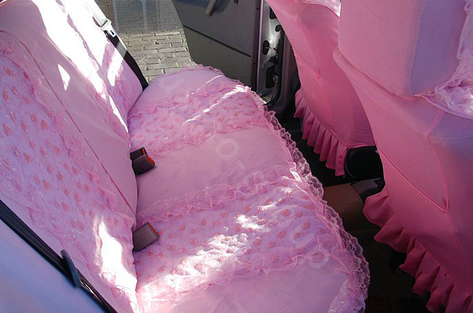 Buy Wholesale Universal Car Seat Covers Bud Silk Lace