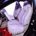 Universal Car Seat Covers Bud silk Lace - Purple EB003