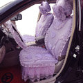 Universal Car Seat Covers Bud silk Lace - Purple EB004