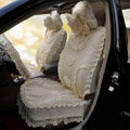 Universal Car Seat Covers Bud silk Lace - Yellow EB002