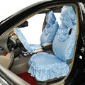 Universal Car Seat Covers Cotton seat covers - Blue