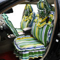 Universal Car Seat Covers Cotton seat covers - Green