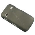 Slim Scrub Silicone hard cases Covers for Samsung i569 S5660 Galaxy Gio - Gray