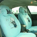 Cartoon Bear Universal Car Seat Covers - Blue EB001