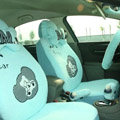 Cartoon Bear Universal Car Seat Covers - Blue