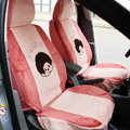 Cartoon Monchichi Universal Car Seat Covers - Pink