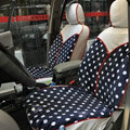 Fashion Auto Car Front Rear Seat Covers Cushion - Blue