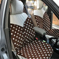 Fashion Auto Car Front Rear Seat Covers Cushion - Brown