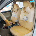 Winnie the pooh Fascinating Car Seat Covers - Beige