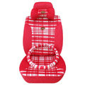 Fascinating Universal Car Seat Covers Cushion - Red