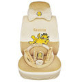 Garfield Fascinating Universal Car Seat Covers - Beige