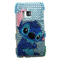 Bling Cartoon Diamond Crystals Hard Cases Covers For Nokia N8