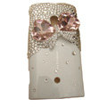 Bling bowknot Crystals Hard Plastic Cases Covers For Sony Ericsson X10i