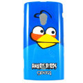 Angry bird Hard Cases Covers For Sony Ericsson X10i - Blue