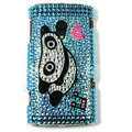 Bling Panda Crystals Hard Cases Covers For Sony Ericsson X10i