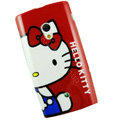 Hello kitty Silicone Hard Cases Covers For Sony Ericsson X10i - Red
