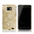Dreamplus Bling Crystals Cases Covers For Samsung i9100 GALAXY SII S2 - Gold