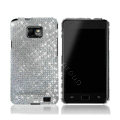 Dreamplus Bling Crystals Cases Covers For Samsung i9100 GALAXY SII S2 - Silver