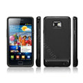 SGP Scrub Silicone Cases Covers For Samsung i9100 GALAXY S2 SII - Black