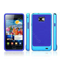 SGP Scrub Silicone Cases Covers For Samsung i9100 GALAXY S2 SII - Blue