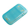 Moovworks Silicone Cases Covers for Blackberry Bold Touch 9900 - Blue