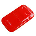 Moovworks Silicone Cases Covers for Blackberry Bold Touch 9900 - Red