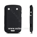 ROCK scrub color cover case for Blackberry Bold Touch 9900 - Black