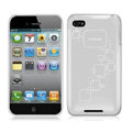 iPEARL Silicone Cases Covers for iPhone 5G - Gray