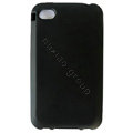 s-mak Color covers Silicone Cases For iPhone 5G - Black
