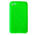 s-mak Color covers Silicone Cases For iPhone 5G - Green