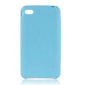 s-mak Color covers Silicone Cases skin For iPhone 5G - Blue