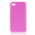 s-mak Color covers Silicone Cases skin For iPhone 5G - Purple