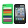 s-mak Rainbow Silicone Cases covers for iPhone 5G