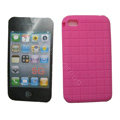 s-mak Silicone Cases Skin for iPhone 5G - Rose