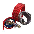 Car amplifier installation kit car speaker wire subwoofer amplifier connection speaker plug 5meter 6awg