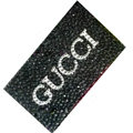 GUCCI bling crystal cases skin for your mobile phone model - Black