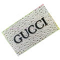GUCCI bling crystal cases skin for your mobile phone model - White