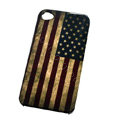 American flag Hard Back Cases Covers for iPhone 4G - Red